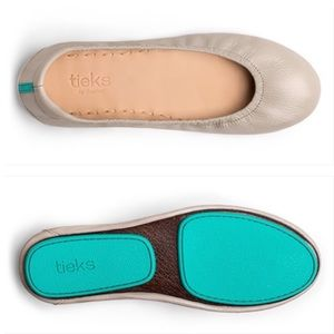 Tieks Feather Grey Ballet Flats Sold Out! Size 7
